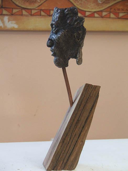 Bronze 'Face'